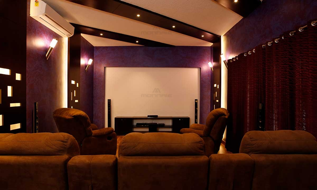 Home Theater Design Plans - Monnaie Architects