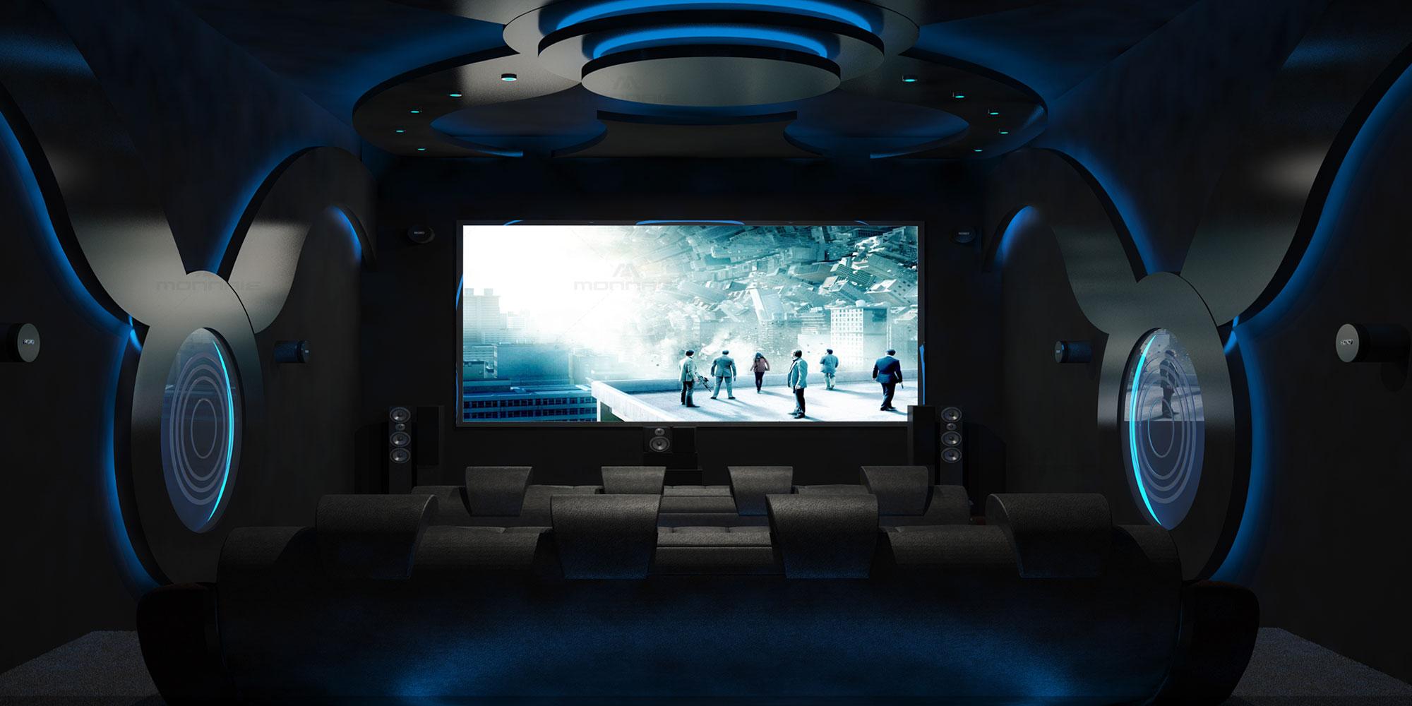 home theater design - best home designers in kochi