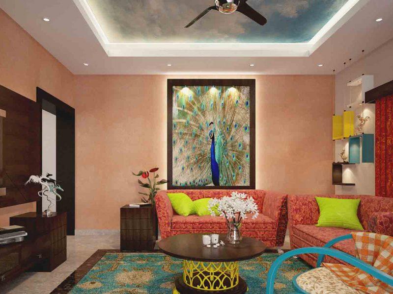 best retro style interior design