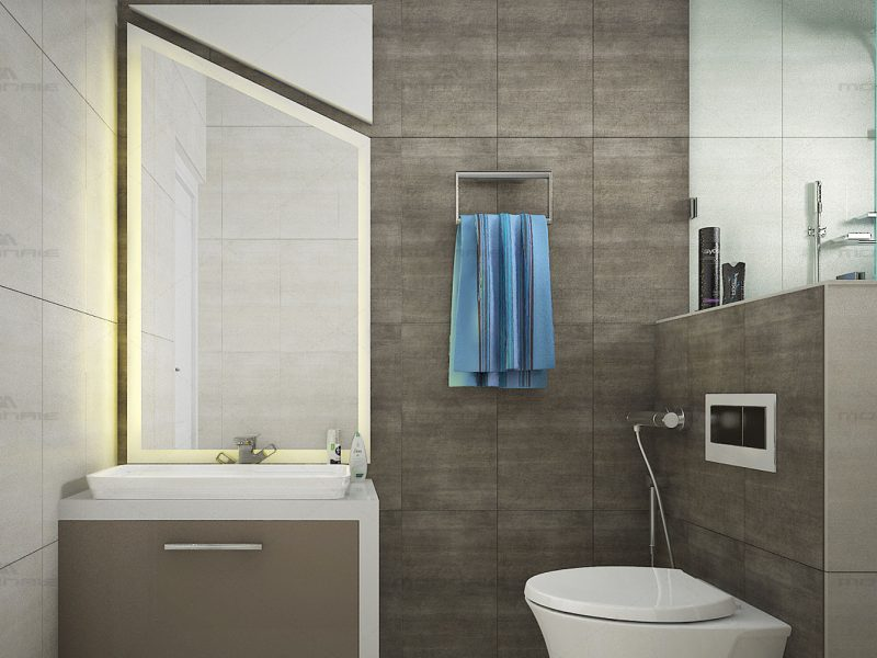 Bathroom interiors in Calicut