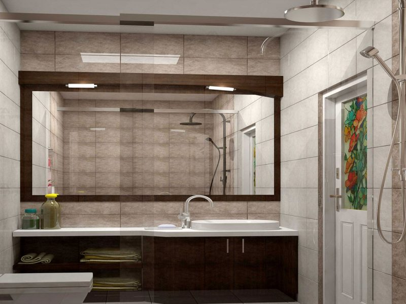 Bathroom interiors in Thrissur