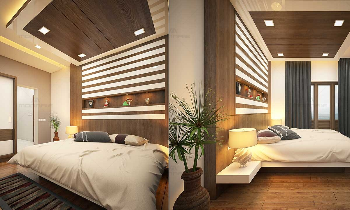 Bedroom Interior Decor Images, Ernakulam, Kerala