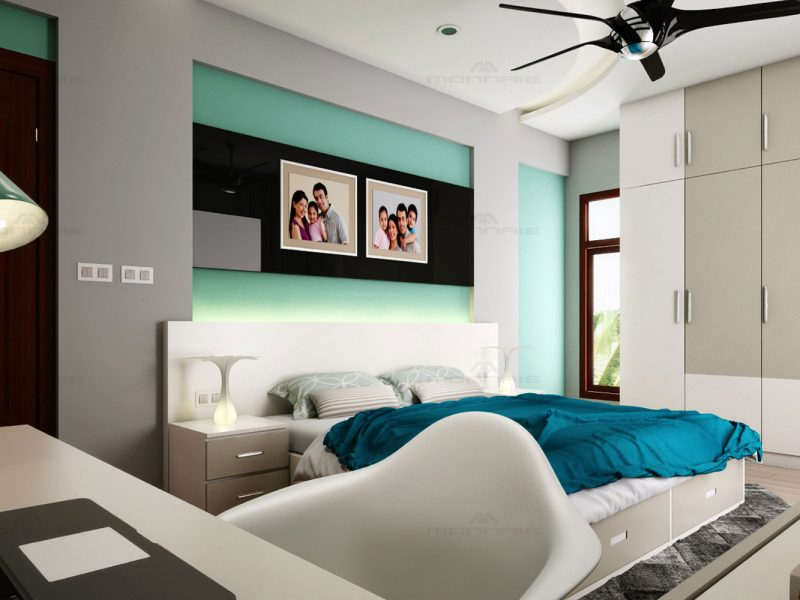 Bedroom interior designers in Kerala