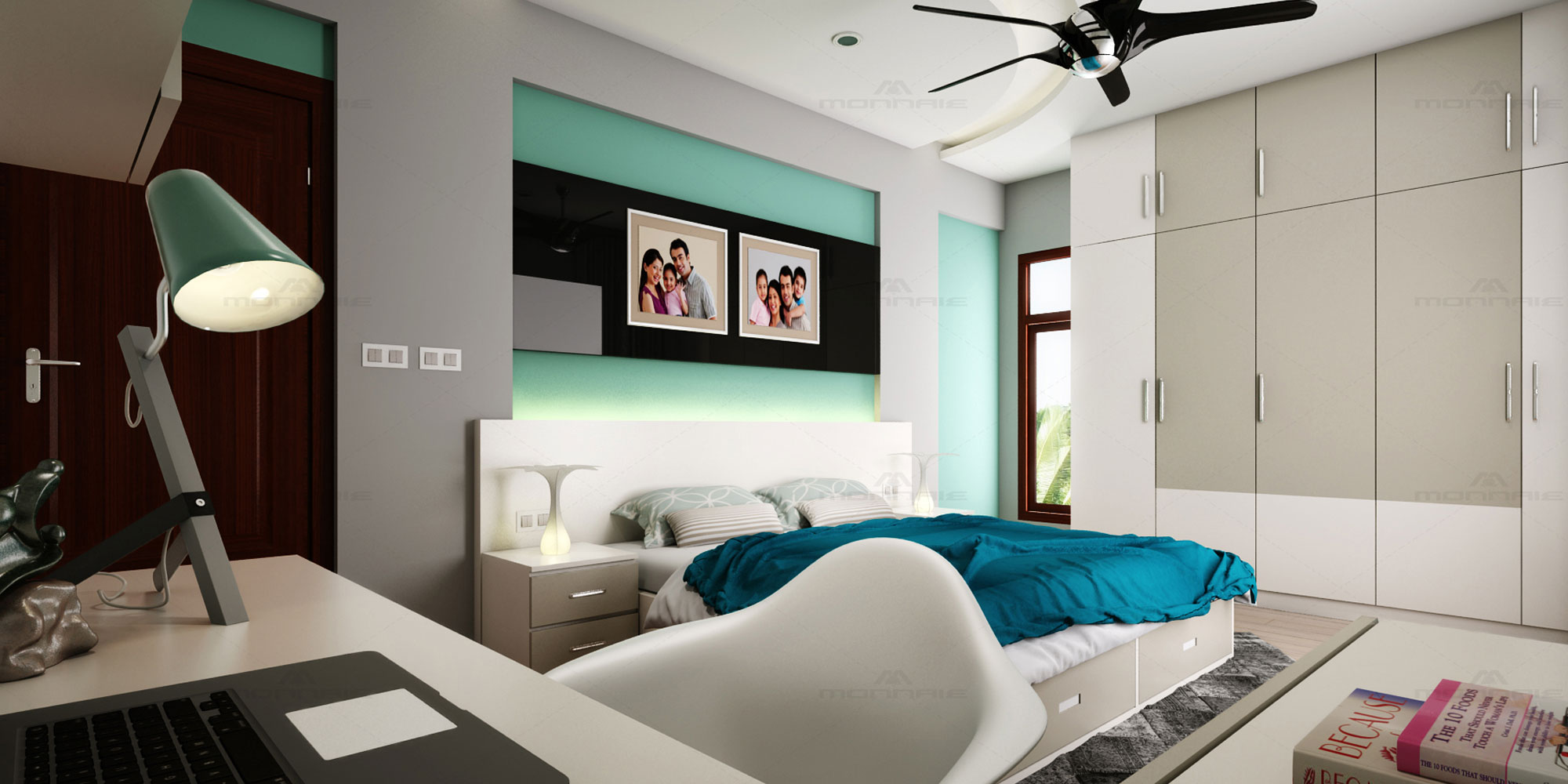 Bedroom interior designers in Kerala