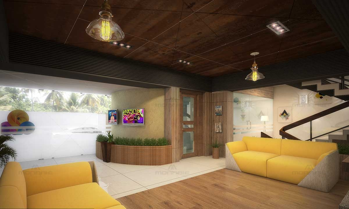 Commercial Building Interior Design Architects - Kerala