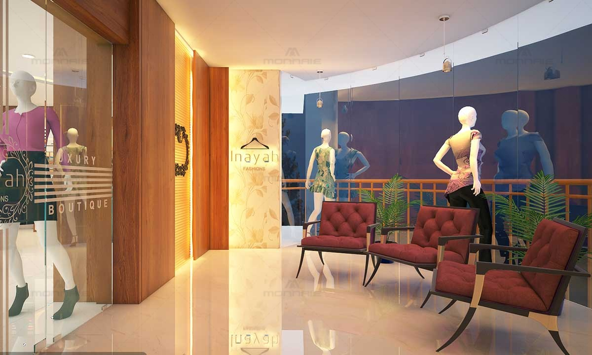 Contemporary Interior Design For Boutique