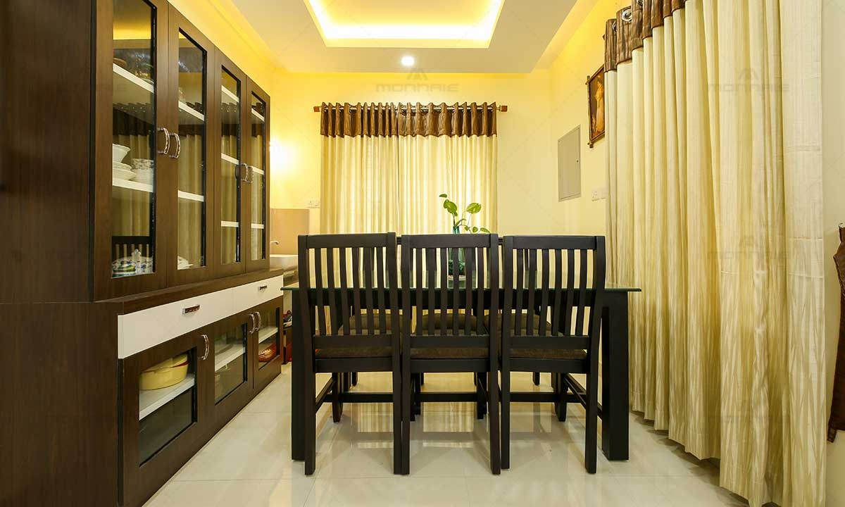 Contemporary Minimal Style House Interiors - Home Designers In Kochi