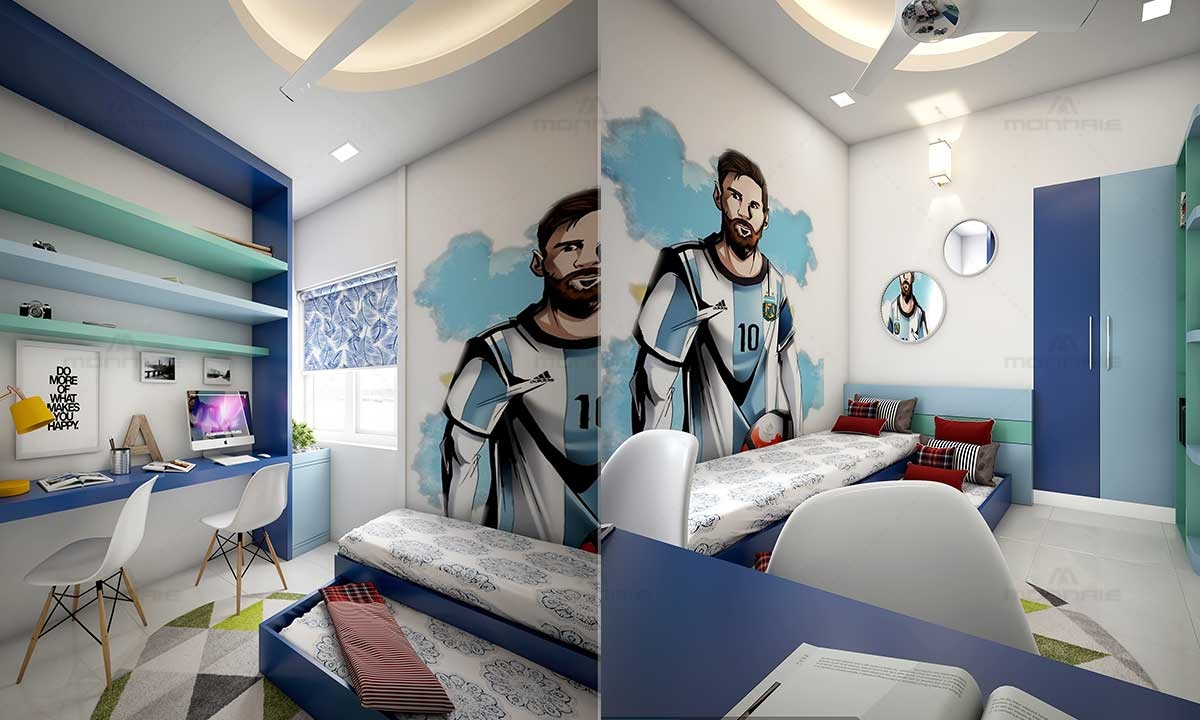 Creative Wall Paper & Interior Designs With Themes