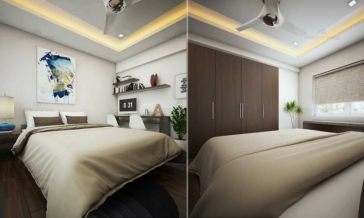 False Ceiling, Wall Canvas & Decor For Bedroom