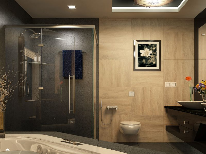 Flat interiors in Ernakulam