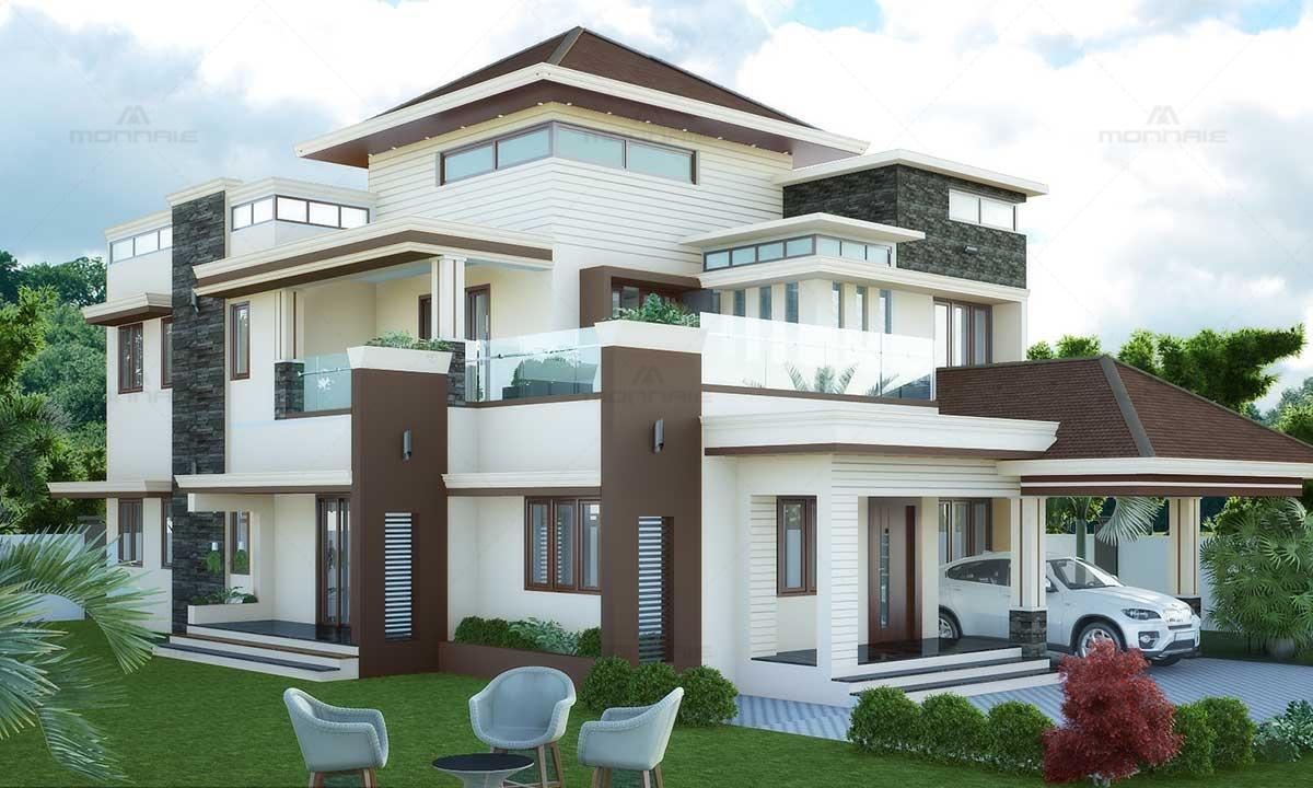Fusion Style Home Design Ideas - Monnaie Architects & Interiors