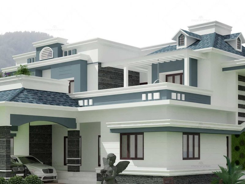 Home architecture design Kozhikode - Monnaie Architects & Interiors