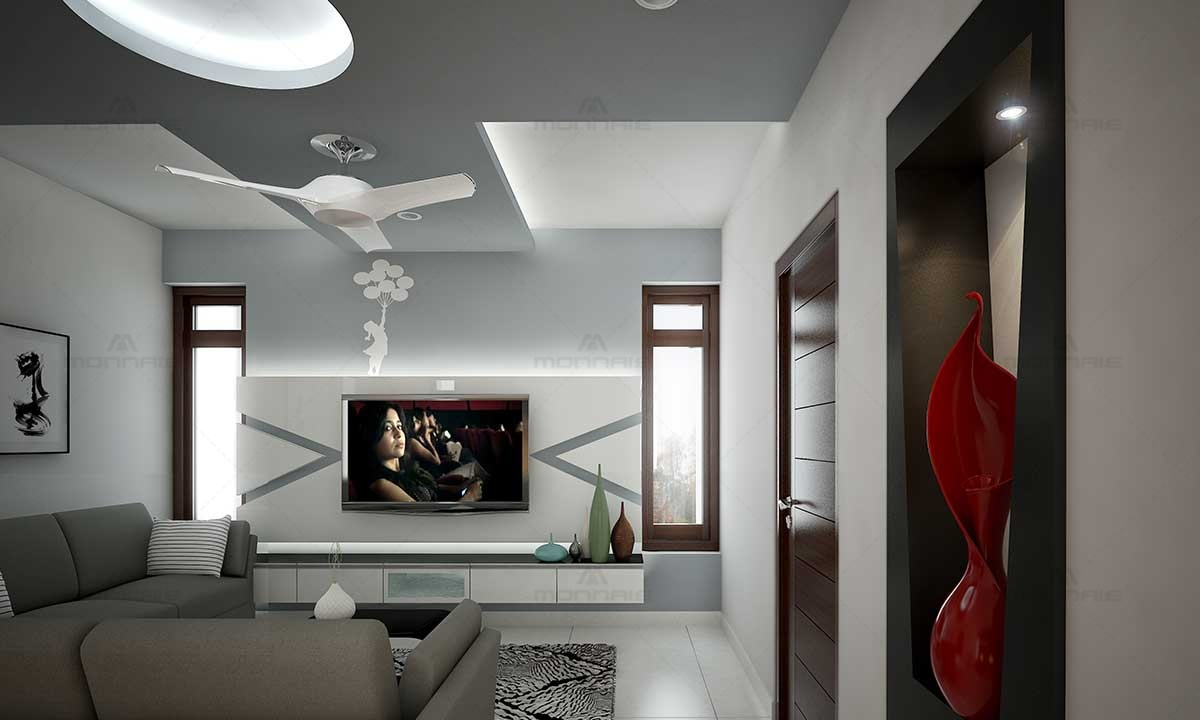Home Living Room Interiors Ideas - Architects In Kerala