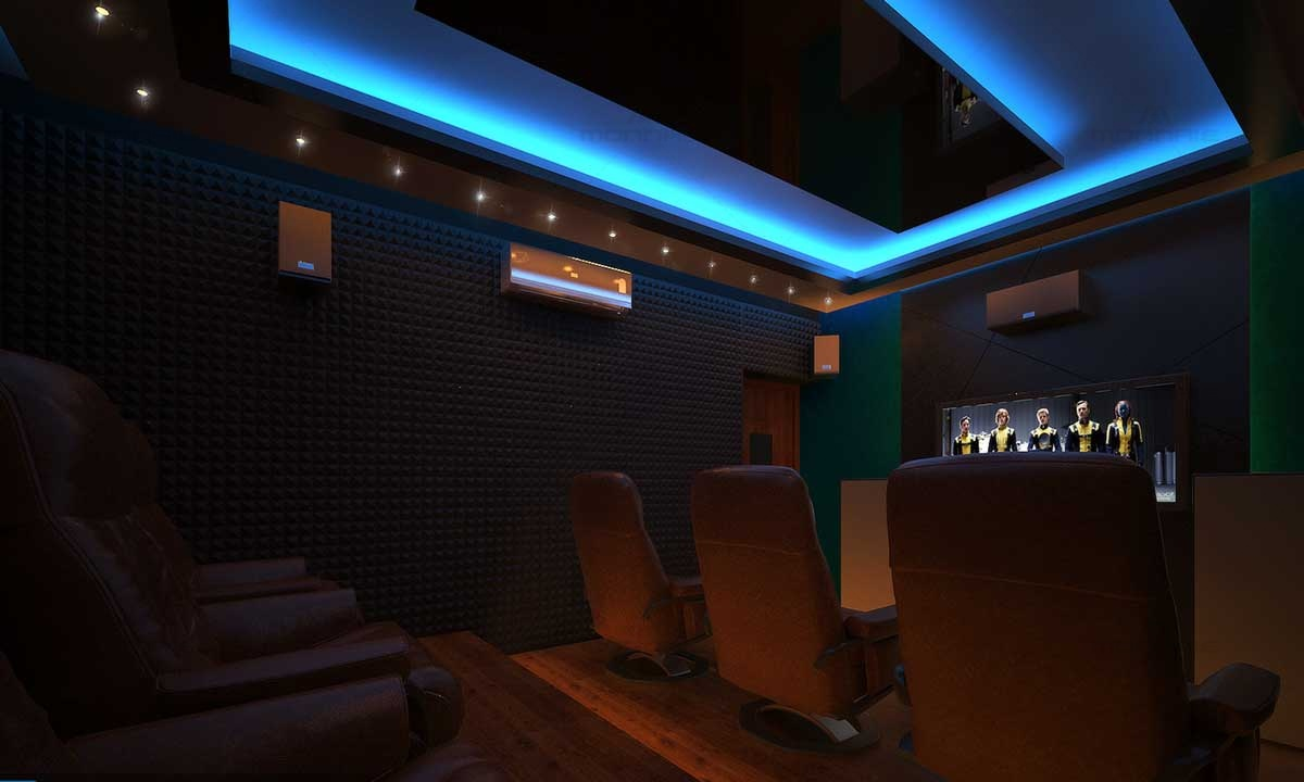 Home Theater Room Setup Plans
