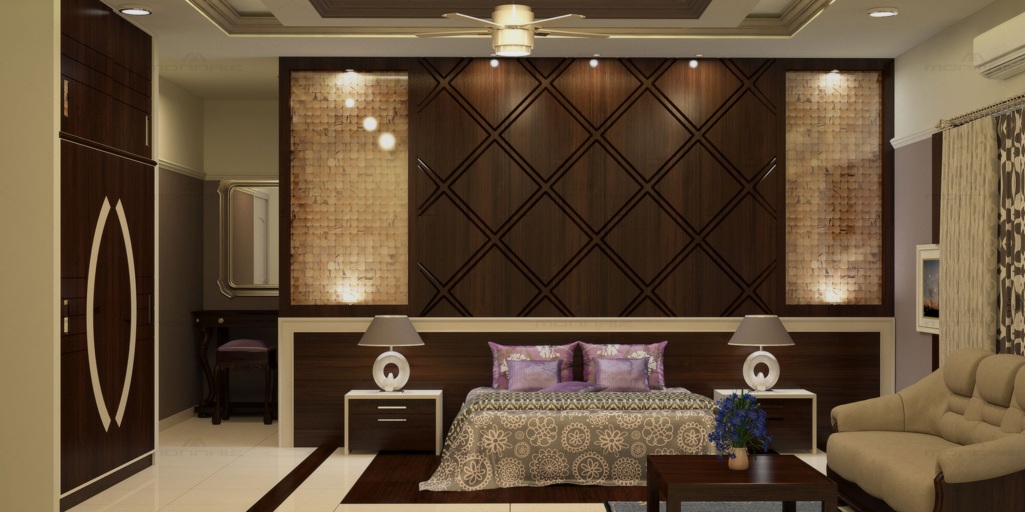 Interior Design for 1, 2, 3, 4 BHK flats, Cost, Designers, Decoration pictures
