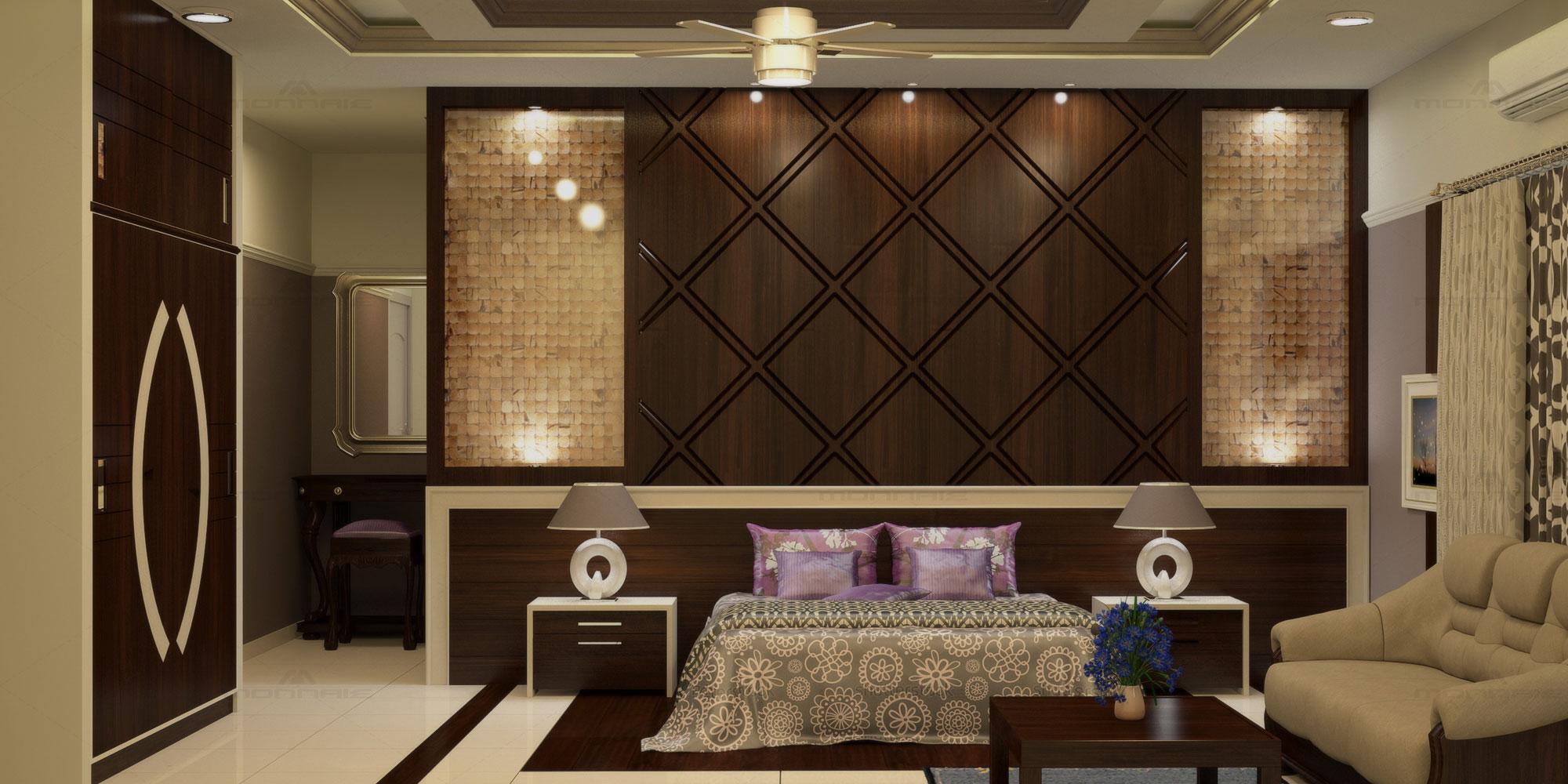 Bhk Flat Interiors In Kerala Flat Villa Interior Designers