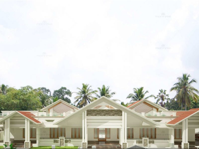 Kerala style Architecture - Monnaie Architects & Interiors