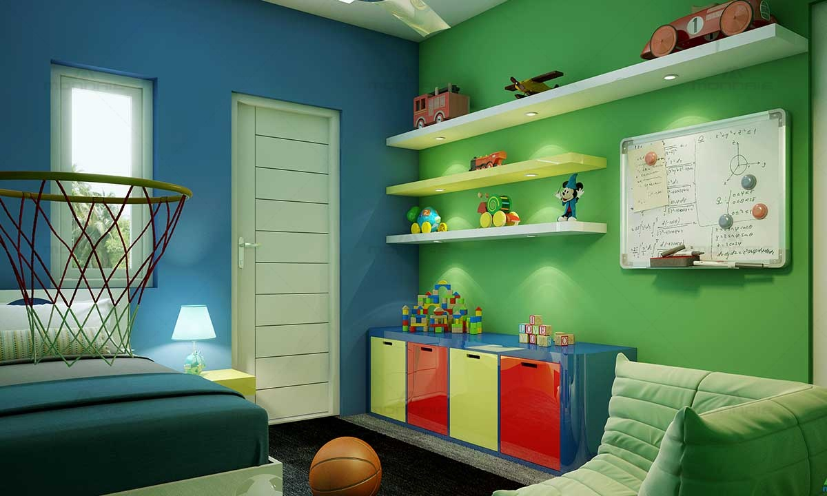 Kids Room Ideas & Decoration - Monnaie Interiors & Architects
