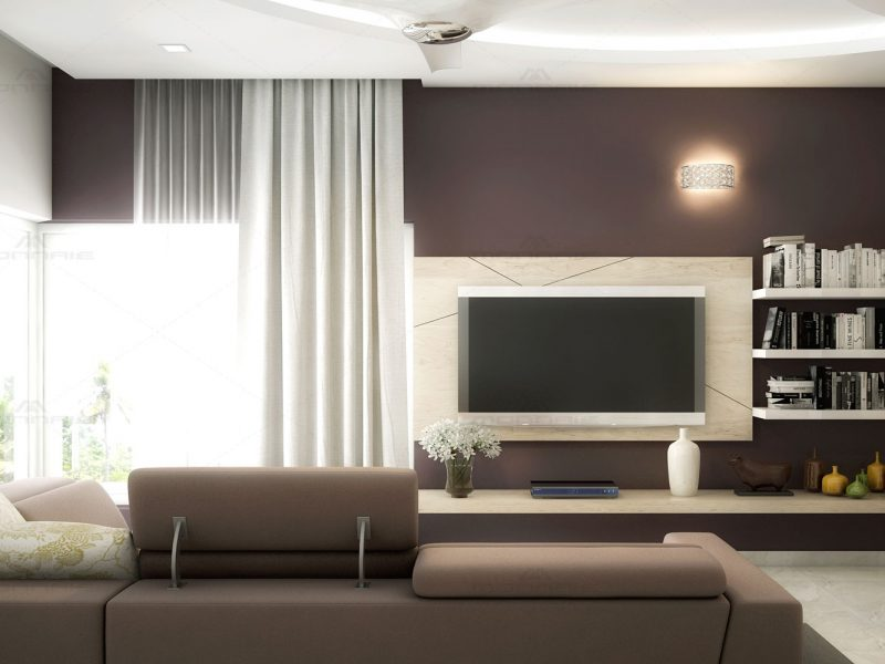 living room interior design - Monnaie Architects & Interiors