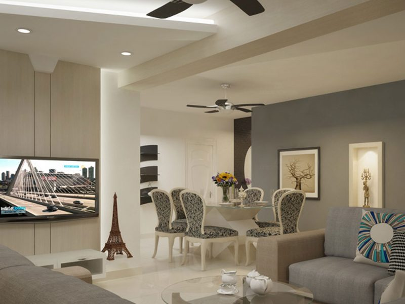 Modern interiors in Bangalore