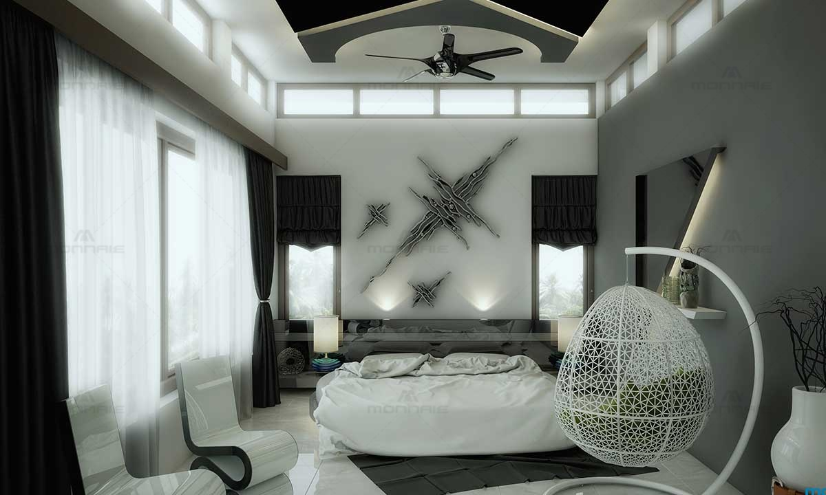 Modern Bedroom Designs & Theme - Best Home Designers In Kerala