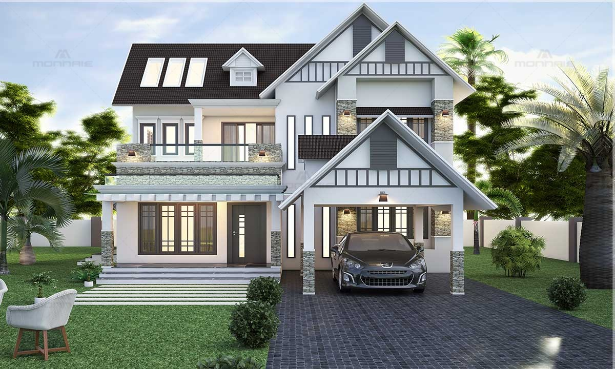 Modern Fusion House Plans - Best Home Interiors in Kochi