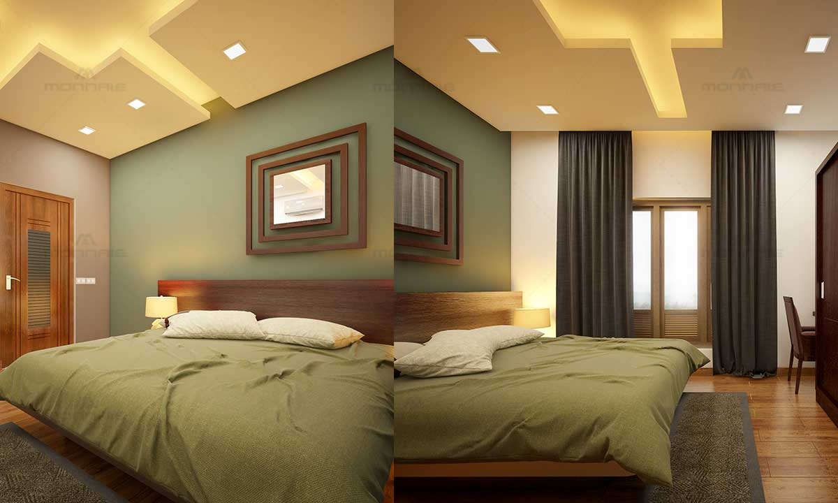 Simple & Beautiful Bedroom Paint Colors & Lights