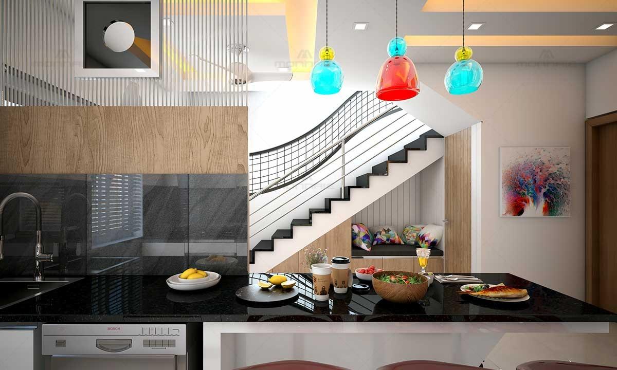 Space Saving Kitchen Ideas Monnaie Architects