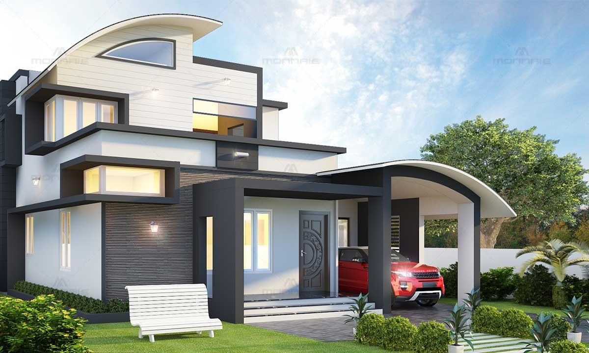 Top Contemporary Architecture Home Design, Kochi