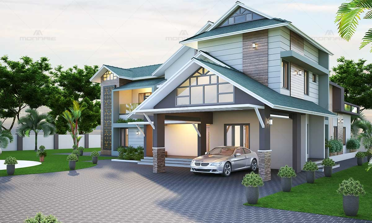 Top Contemporary Home Designs in Pathanamthitta, Kerala