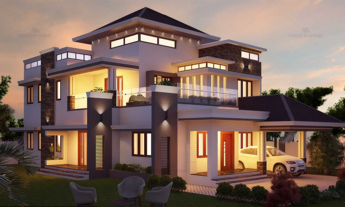 Victorian & Contemporary Fusion Home - Top Architects In Kerala