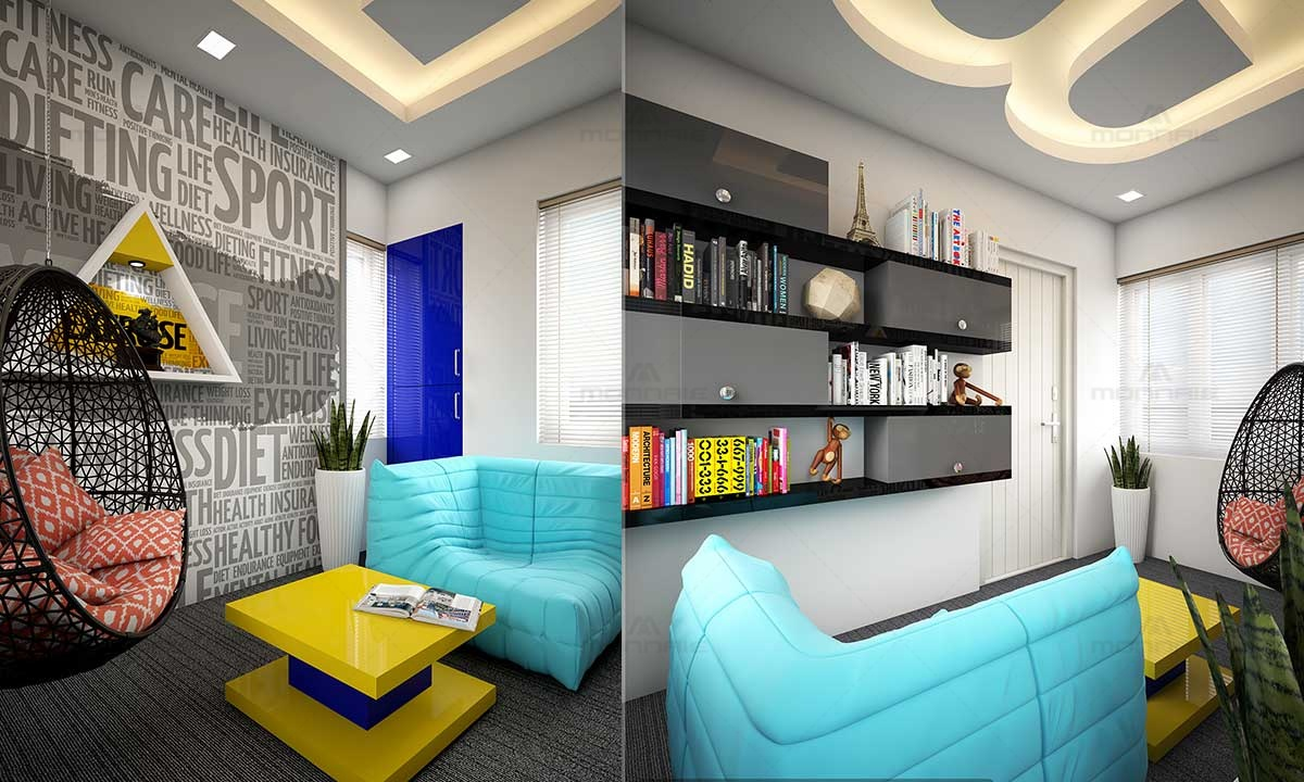 Wall Paper Quotes Ideas & Vibrant Color Home Furnitures