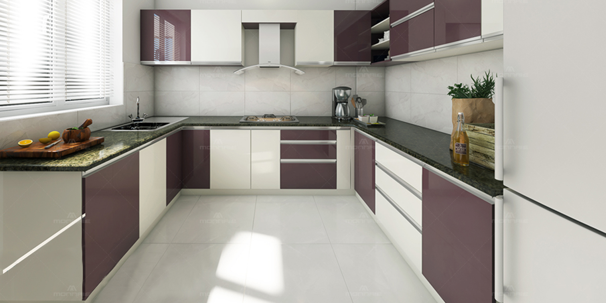 Modular Kitchen Interiors Designs Cabinets Kochi Kerala