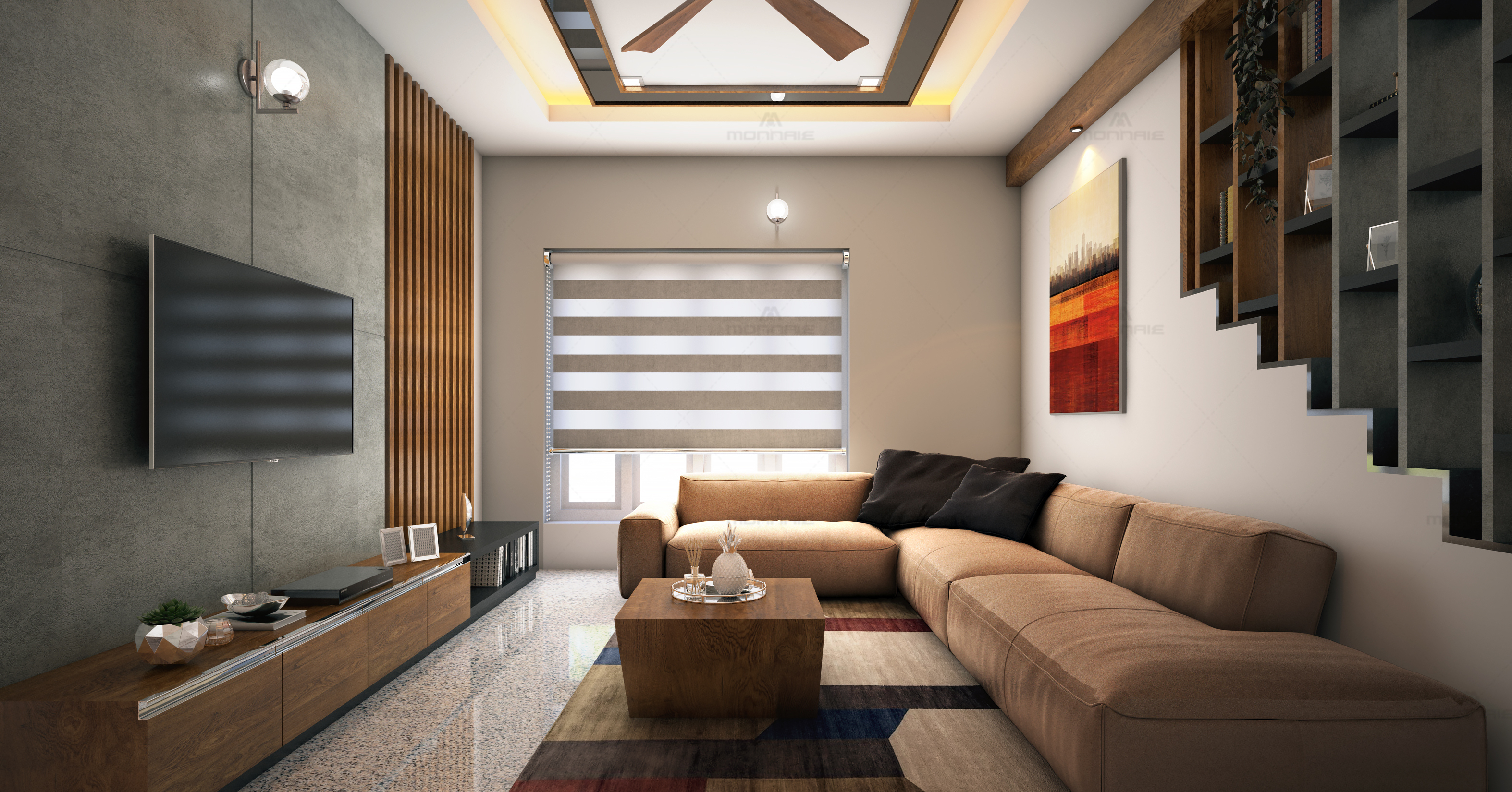 Luxury Living Room Design Ideas, Kochi, Kerala