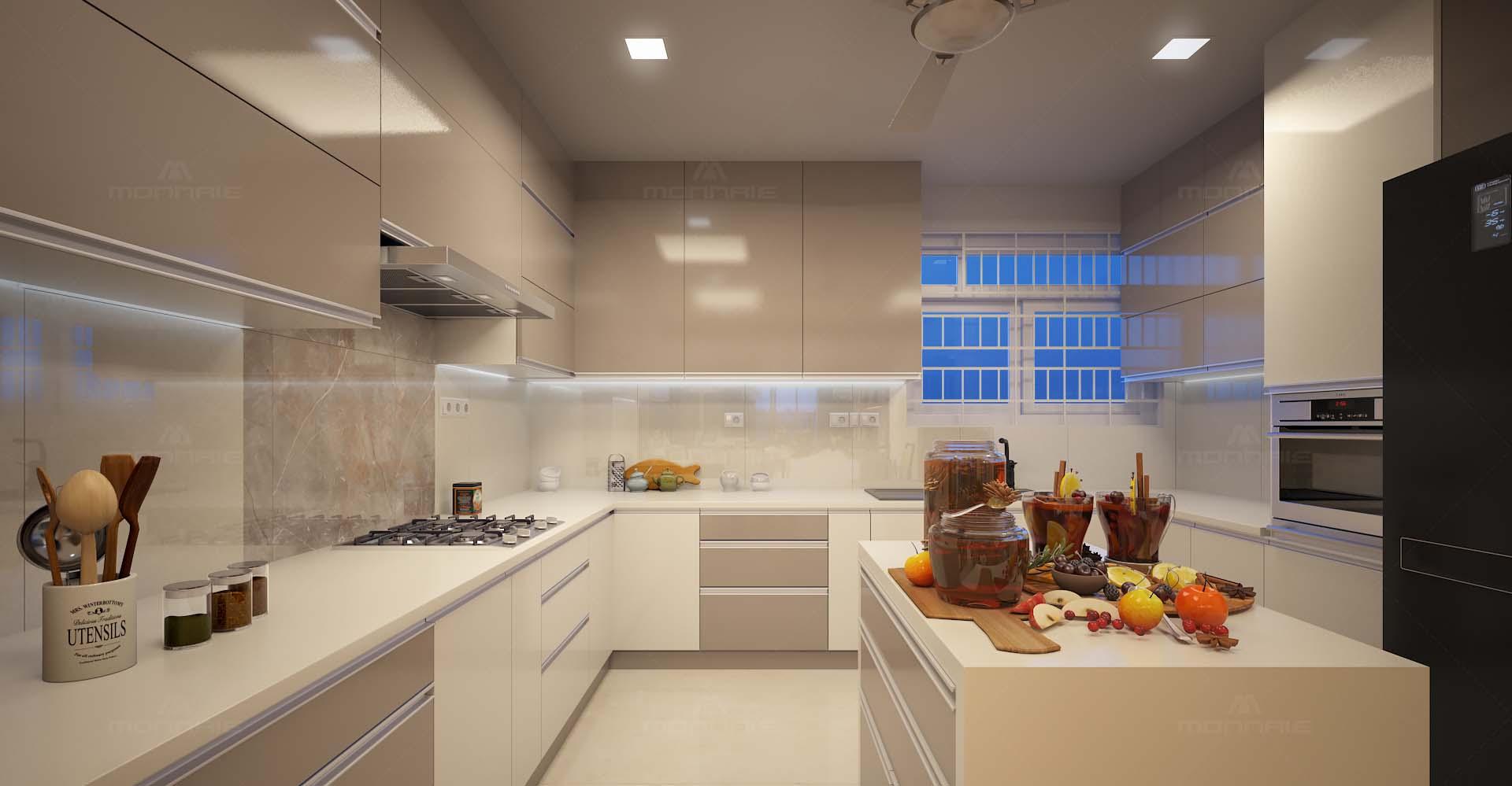 7. Modular Kitchen